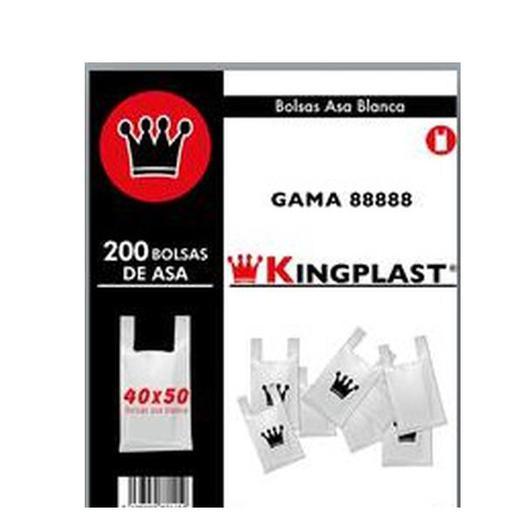 BOLSA ASA BLANCA 40*50 200U KP /YP 20122