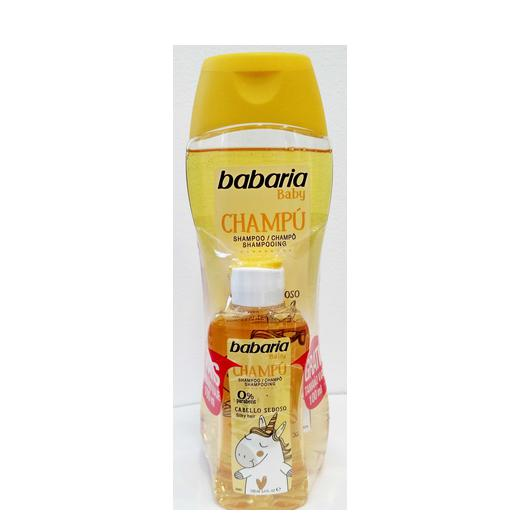 CHAMPU BABARIA BABY 500ML + MINI 100ML 98814/31489