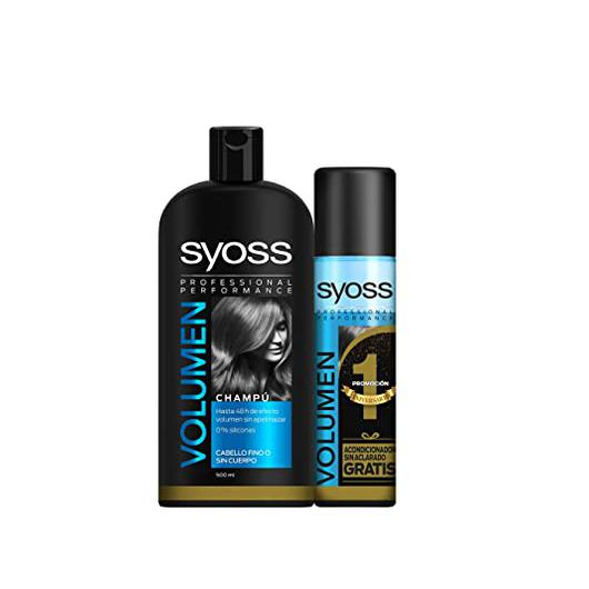 CHAMPU SYOSS 500 ML VOLUMEN + ACONDICIONADOR 200 ML