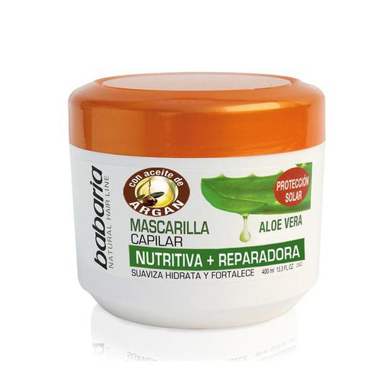 MASCARILLA BABARIA 400 ML PROTEC COLOR ALOE /GIN  31168
