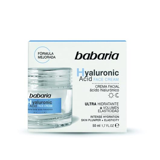 CREMA FACIAL BABARIA 50 ML HIALURONICO 31739