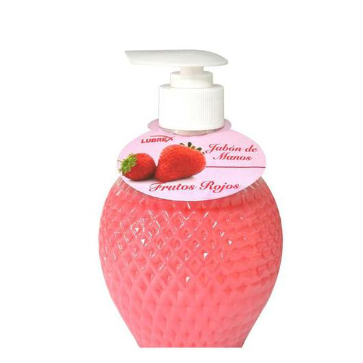 JABON MANOS LUBREX 350 ML FRUTOS ROJOS