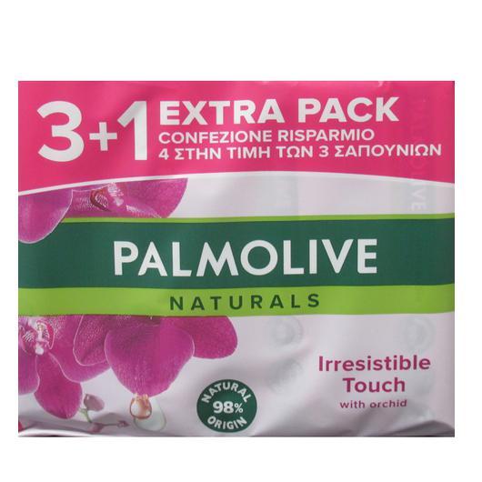 JABON PALMOLIVE PACK 3U+1  90 GR. ORQUIDEA NEGRA