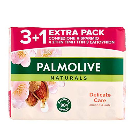 JABON PALMOLIVE PACK 3U+1  90 GR. ALMENDRAS