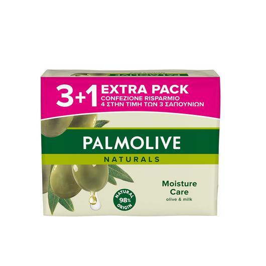 JABON PALMOLIVE PACK 3U+1U 90 GR. OLIVA