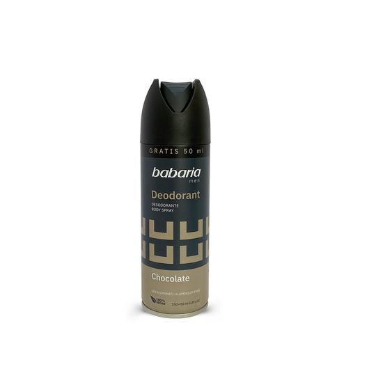 DESODORANTE  BABARIA 200 ML CHOCOLATE 31344