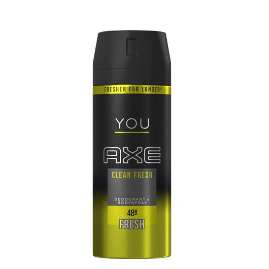 DESODORANTE  AXE 150 ML FRESH YOU CLEAN FRESH