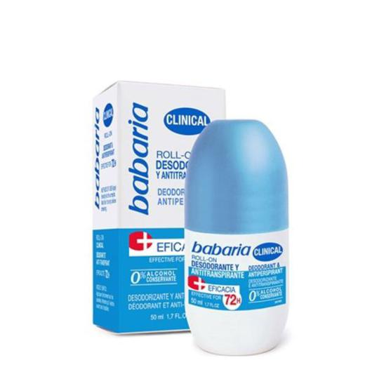 DESODORANTE  BABARIA 50 ML ROLLON ANTI TRANSPIRABLE 31728
