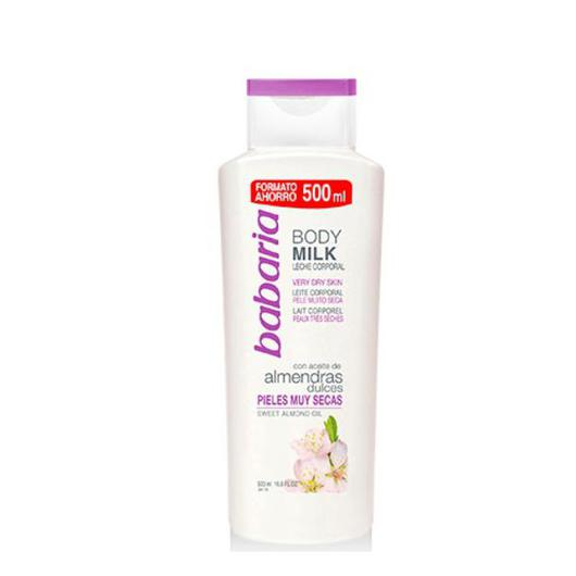 BODY MILK BABARIA 500 ALMENDRAS  31179