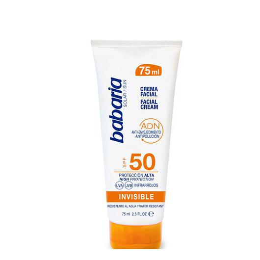 31960 CREMA FACIAL F50 SOLAR INVISIBLE 75ML BABARIA