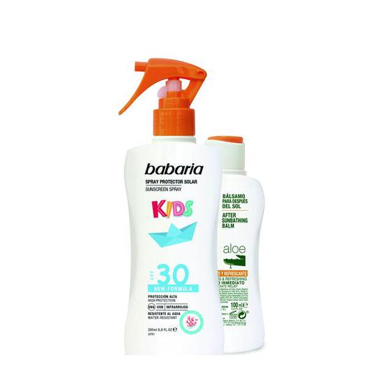 98248 SPRAY PROTECTOR INFANTIL F30+AFTERSUN BABARIA