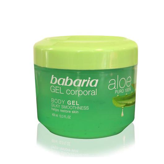 31238 GEL CORPORAL ALOE PURO 400 ML BABARIA