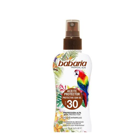 31963 SPRAY PROTECTOR SOLAR F30 TROPICAL 100ML  BABARIA