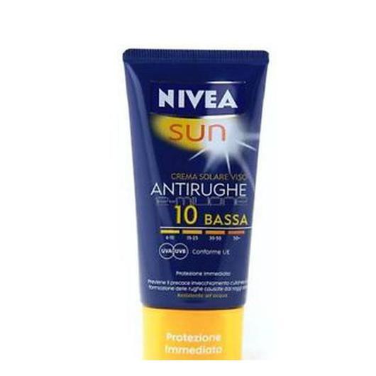 PROTECTOR FACIAL NIVEA SUN 50 ML F10 ANTIARRUGAS