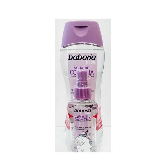 COLONIA BABARIA BABY 500ML + MINI 100ML 98816/31485