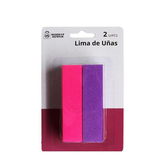 LIMA UÑAS 2U 9,6x1,9CM  A8446
