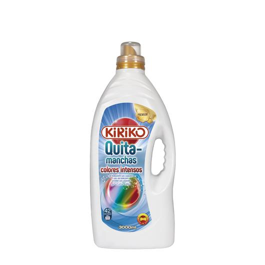 DETERGENTE  LIQUIDO KIRIKO 3 L COLOR INTENSO QUITAM  61903