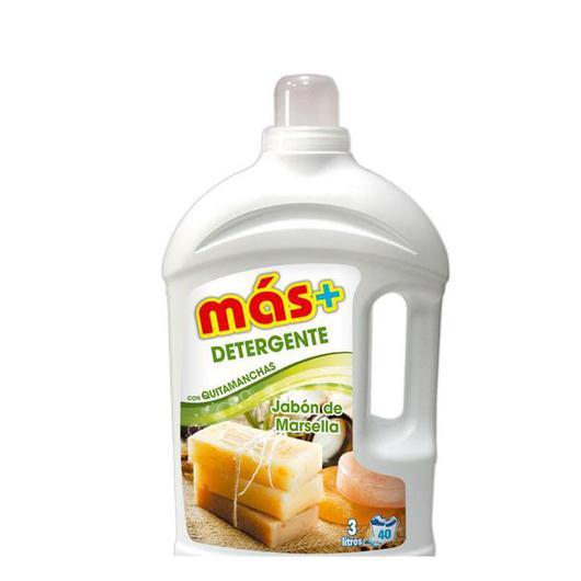 DETERGENTE  LIQUIDO MAS + 3 LT MARSELLA