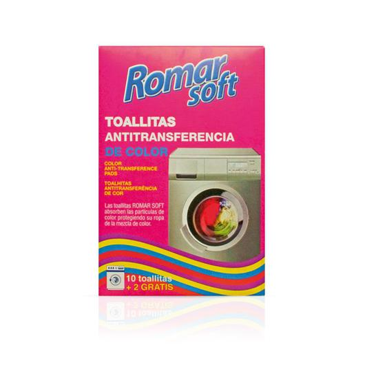 TOALLITAS ANTI TRANSFERENCIA 10+2 ROMAR SOFT 03658
