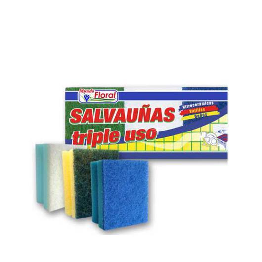 ESTROPAJO SALVAUÑAS TRIPLE USO K40008