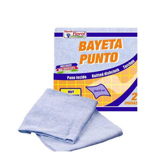 BAYETA PUNTO GRIS 2U K40026