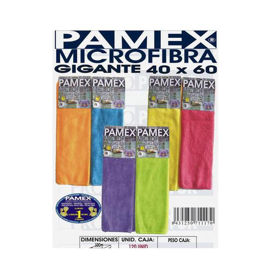 BAYETA MICROFIBRA GIGANTE PAMEX 40X60