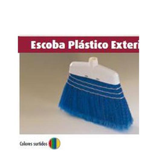 ESCOBA PLASTICO CON CORDONES 02469
