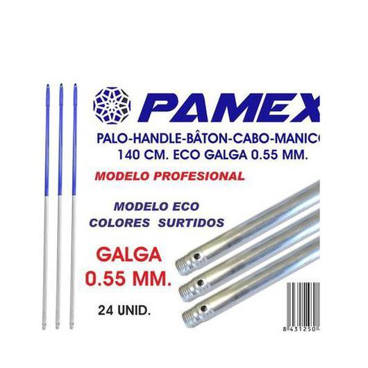 PALO ALUMINIO 140 CM ECO GALGA 0,55 MM AZUL