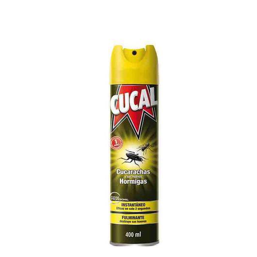 INSECTICIDA CUCAL CUCAS 400 ML