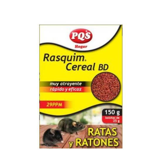 RATICIDA RASQUIM CEREAL 150 GR