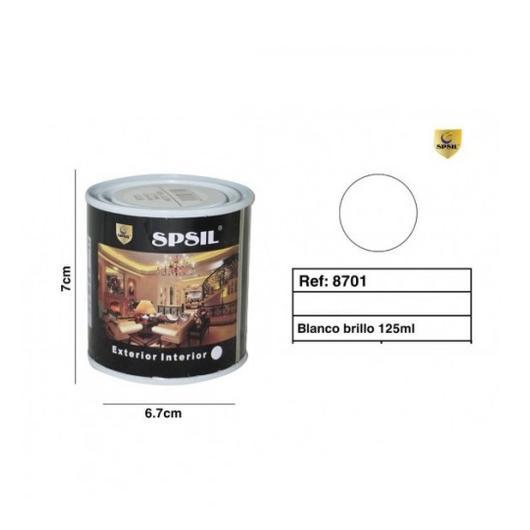 PINTURA LATA SPSIL 125 ML BLANCO BRILLO 8701