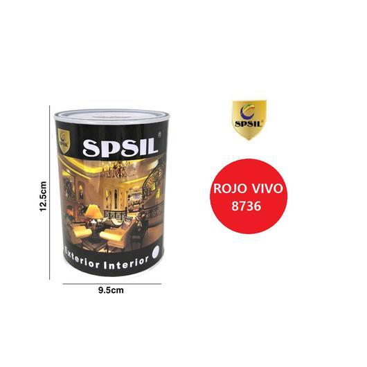 PINTURA LATA SPSIL 125 ML ROJO VIVO 8736