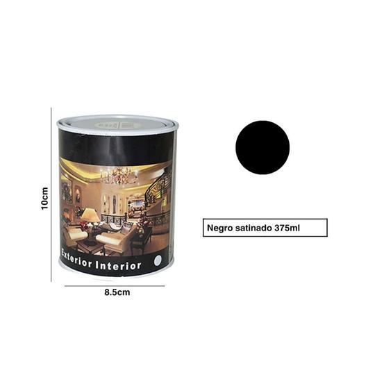 PINTURA LATA SPSIL 375 ML NEGRO SATINADO 8764