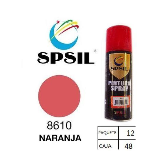PINTURA SPRAY 200 ML SPSIL NARANJA 8610