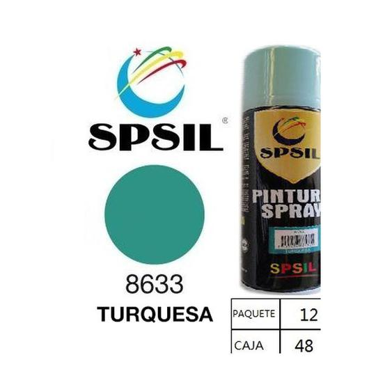 PINTURA SPRAY 200 ML SPSIL TURQUESA 8633