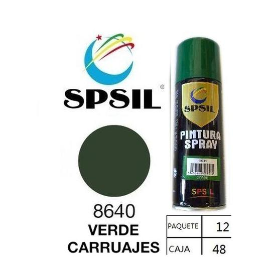 PINTURA SPRAY 200 ML SPSIL VERDE CARRUAJES 8640