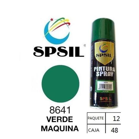 PINTURA SPRAY 200 ML SPSIL VERDE MAQUINA 8641