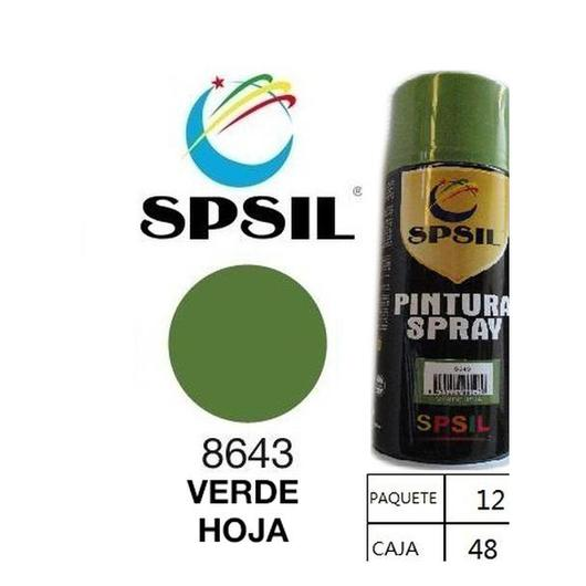 PINTURA SPRAY 200 ML SPSIL VERDE HOJA 8643