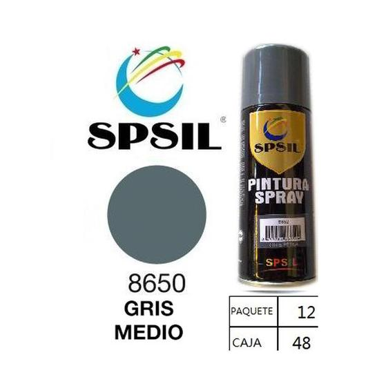 PINTURA SPRAY 200 ML SPSIL GRIS MEDIO 8650
