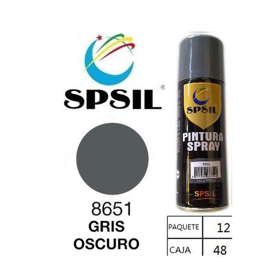 PINTURA SPRAY 200 ML SPSIL GRIS OSCURO 8651