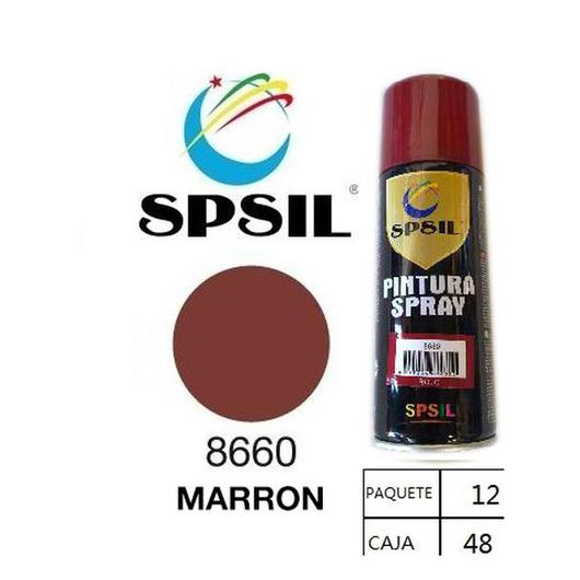 PINTURA SPRAY 200 ML SPSIL MARRON 8660