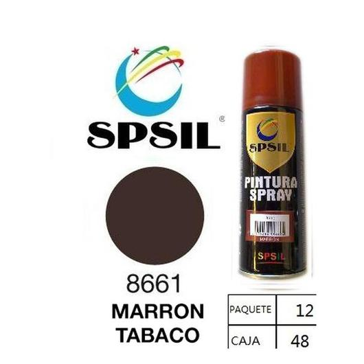 PINTURA SPRAY 200 ML SPSIL MARRON TABACO 8661
