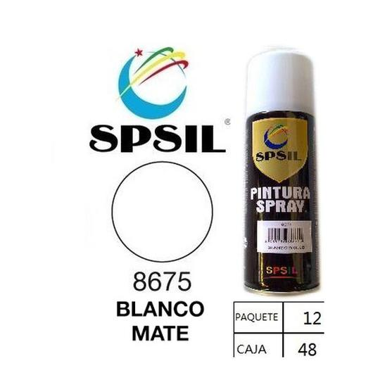 PINTURA SPRAY 200 ML SPSIL BLANCO MATE 8675