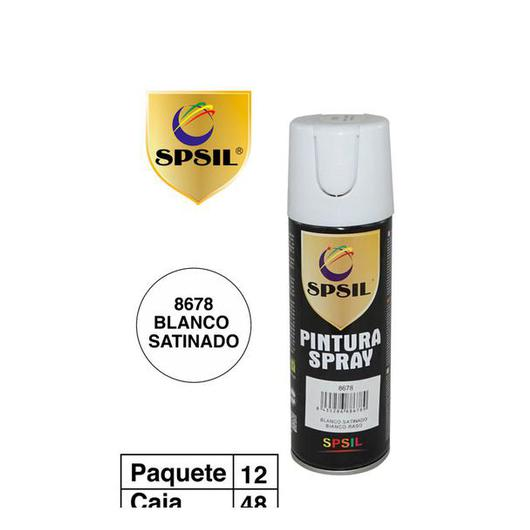 PINTURA SPRAY 200 ML SPSIL SATINADO 8678