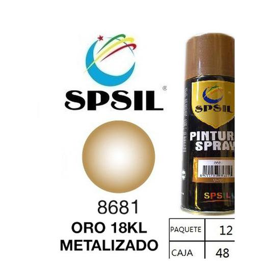 PINTURA SPRAY 200 ML SPSIL ORO MEDIO 8681