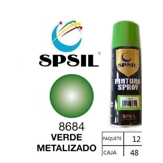 PINTURA SPRAY 200 ML SPSIL VERDE METALIZADO 8684