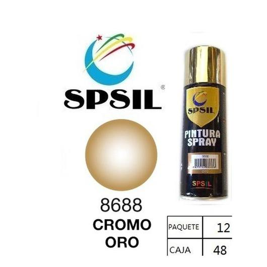 PINTURA SPRAY 200 ML SPSIL ORO 18KL 8688