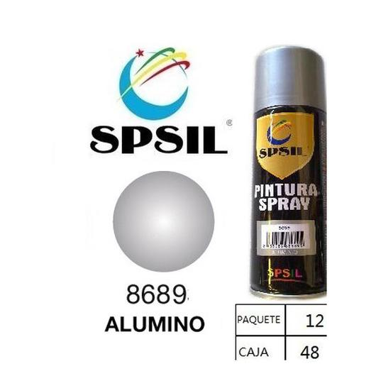 PINTURA SPRAY 200 ML SPSIL ALUMINIO 8689