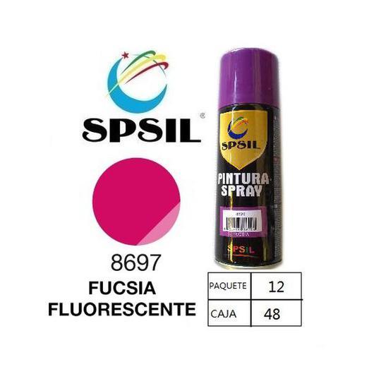PINTURA SPRAY 200 ML SPSIL FUCSIA FLUORESCENTE 8697