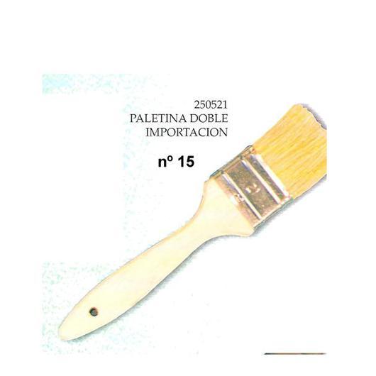 PALETINA DOBLE BARNIZADA Nº15 250415